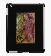 the red warrior iPad Case/Skin