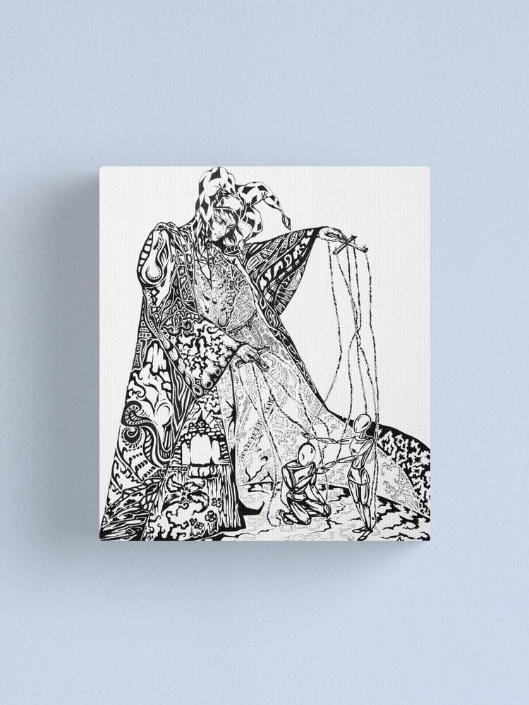 Alternate view of Puppeteer Canvas Print