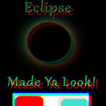 """""""Total Eclipse In 3D"""" by Hgurl"""