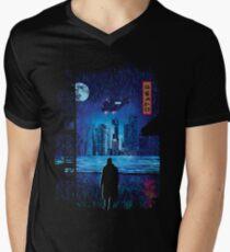 2049 Men's V-Neck T-Shirt
