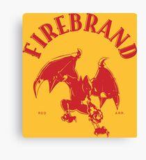 Firebrand Synonym Whisky Canvas Print