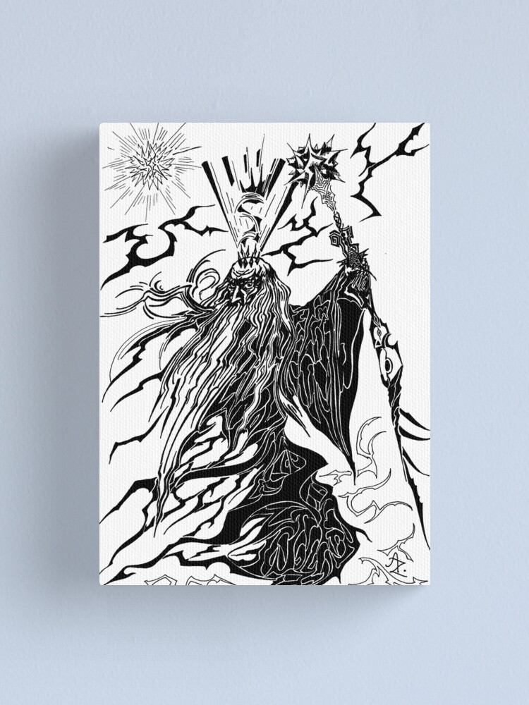 Alternate view of Magician Canvas Print
