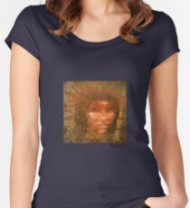 Serene warrior Women's Fitted Scoop T-Shirt