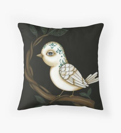 El Pajaro Throw Pillow