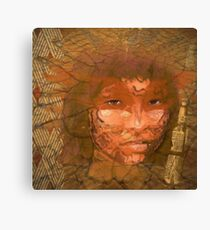 Serene warrior Canvas Print