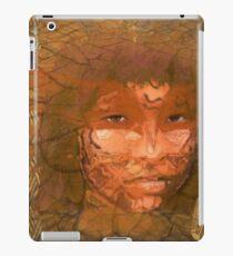 Serene warrior iPad Case/Skin