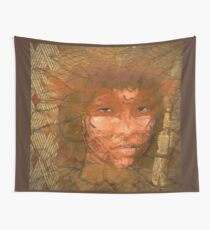 Serene warrior Wall Tapestry