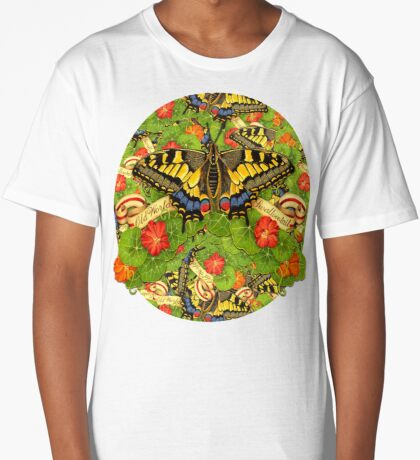 Swallowtail Cacophony  Long T-Shirt