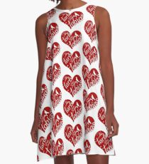 We Tarts Love Tobias A-Line Dress