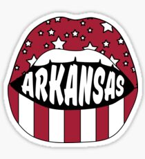 Arkansas Lips Sticker