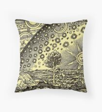 HD Flammarion Woodcut  (1888) Cosmic design Floor Pillow