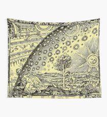 HD Flammarion Woodcut  (1888) Cosmic design Wall Tapestry