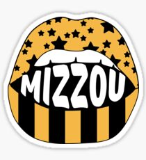 Mizzou Lips Sticker
