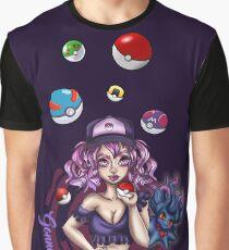 Lavender Trainer Graphic T-Shirt