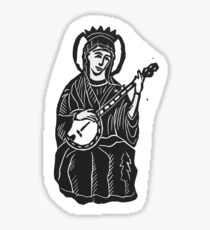 Our Lady of Bluegrass - Banjo Mary Sticker