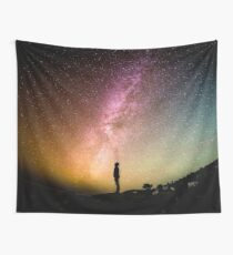Me against the universe Wall Tapestry