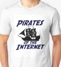 Pirates of the Internet! T-Shirt