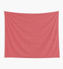 Pink Clover Wall Tapestry