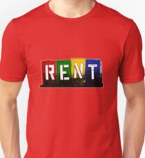 RENT - Musical Unisex T-Shirt