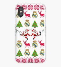 Real Madrid 8-bit Holiday Sweater iPhone Case/Skin