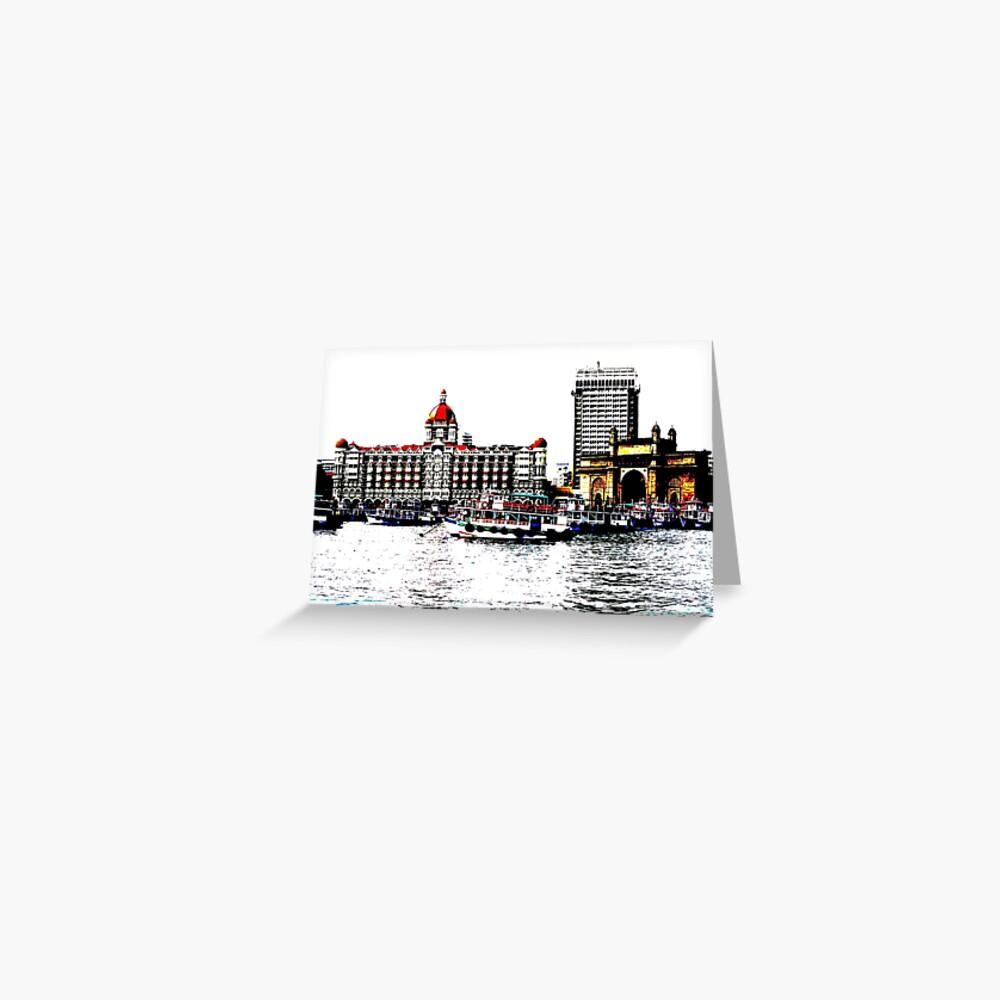 Gateway of India Greeting Card