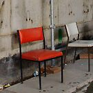 Three Chairs by Alison Howson
