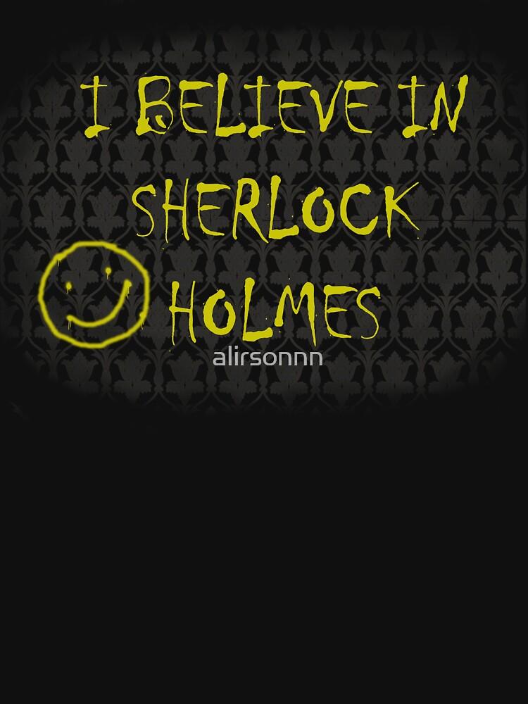 I Believe in Sherlock Holmes | Women's T-Shirt