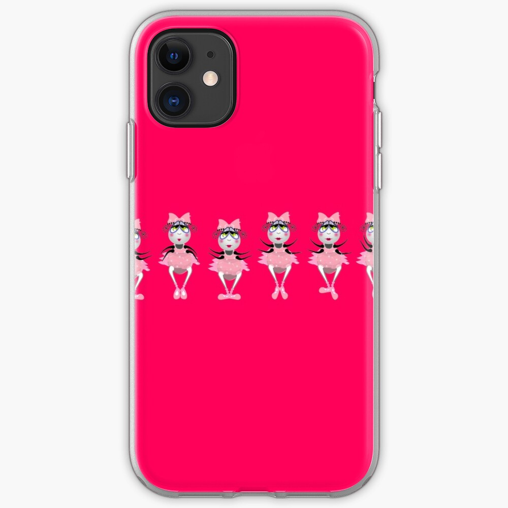 The Fleas Circus -  Thew Ballerinas in line. iPhone Case & Cover