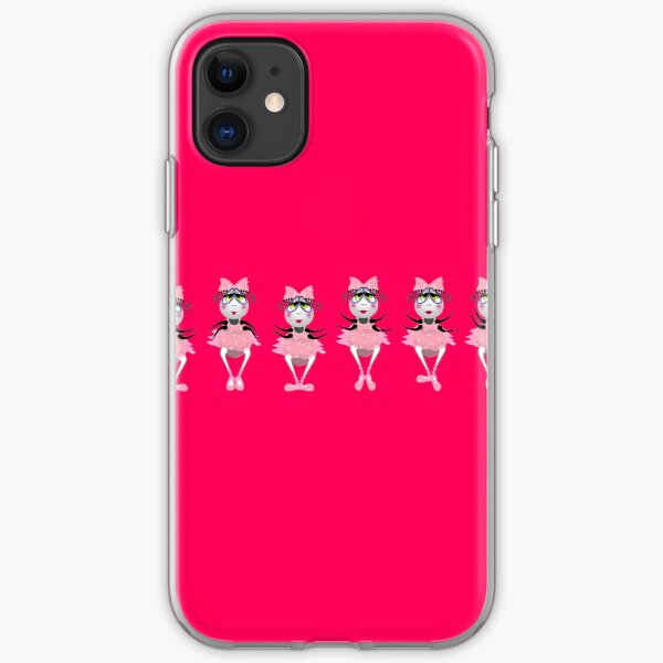 The Fleas Circus -  Thew Ballerinas in line. iPhone Soft Case