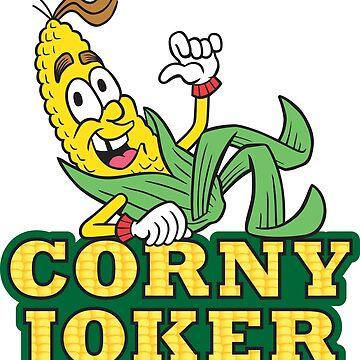 Corny Joker - Amaizing Jim Corn by MHawkinsArt