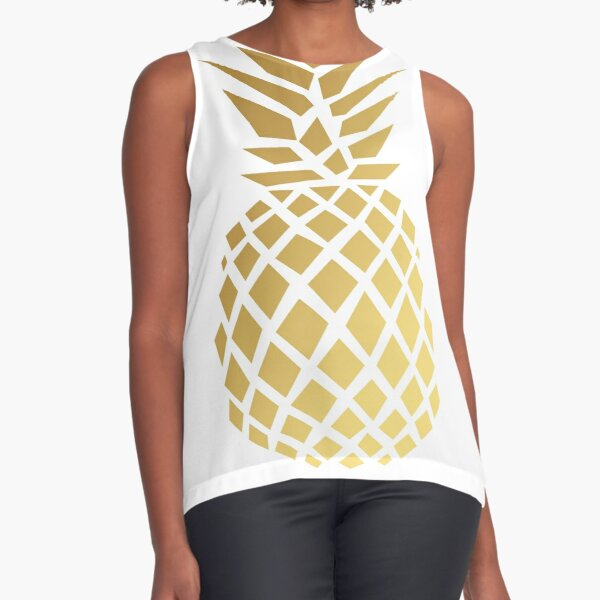 Pineapple Sleeveless Top