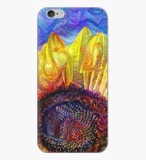 Solar eyelashes iPhone Case