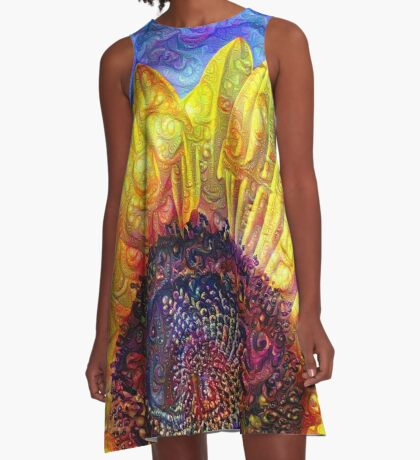 Solar eyelashes A-Line Dress