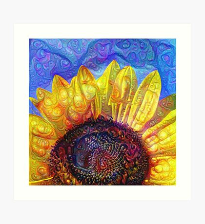 Solar eyelashes Art Print