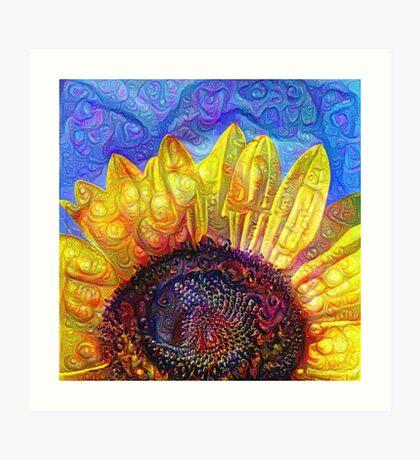 Solar eyelashes Art Print