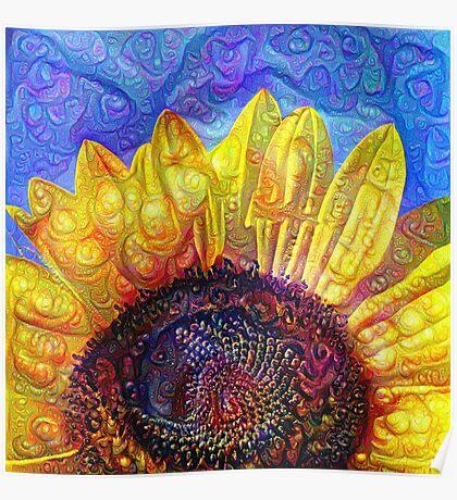 Solar eyelashes Poster