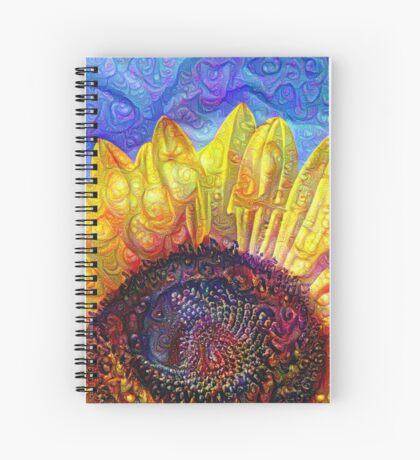 Solar eyelashes Spiral Notebook