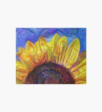 Solar eyelashes Art Board Print