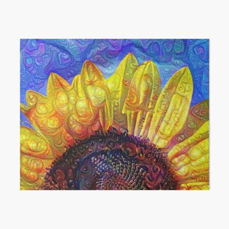 Solar eyelashes Art Board Print