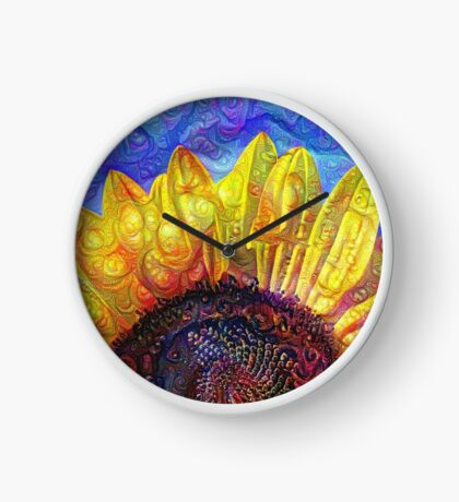Solar eyelashes Clock