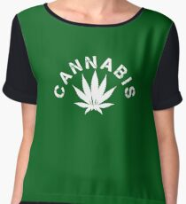 cannabis Chiffon Top
