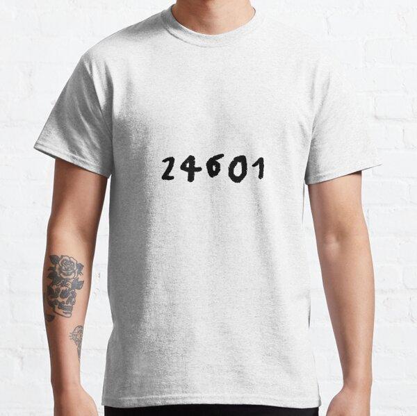 Film Mens T-Shirt Theatre Details about  /24601 Prison Number