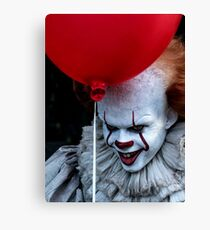 Stephen King It Pennywise Canvas Print