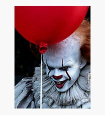 Stephen King It Pennywise Photographic Print