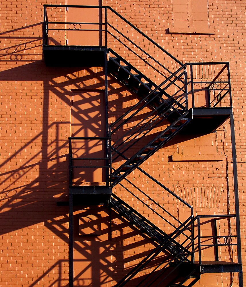 Stairs and Shadows by Robert Goulet