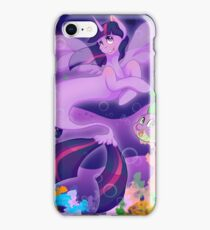 Mer Pony and Puffer fish Twilight and Spike  iPhone Case/Skin
