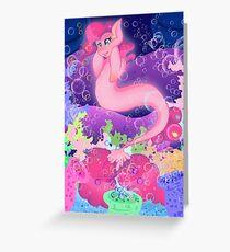 Mer Pony Pinkie Pie Greeting Card