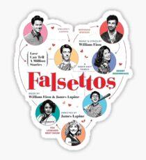 Falsettos Broadway Musical  Sticker