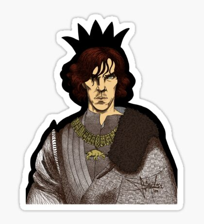 The Hollow Crown - Shakespeare's Richard III (colour) Sticker