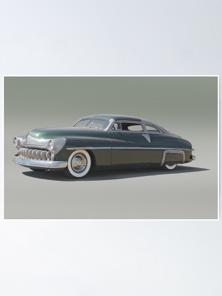 1950 Mercury Coupe Restoration Project Poster By Davekoontz
